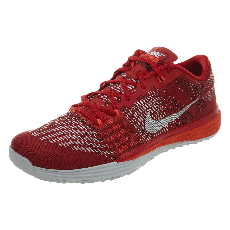 NIKE Lunar Caldra Mens University Red White Crimson Running Sneakers