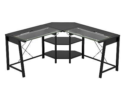 amazon com z line designs zl3210 01ldu vance l desk black kitchen rh amazon com z-line designs easton desk z line design computer desk