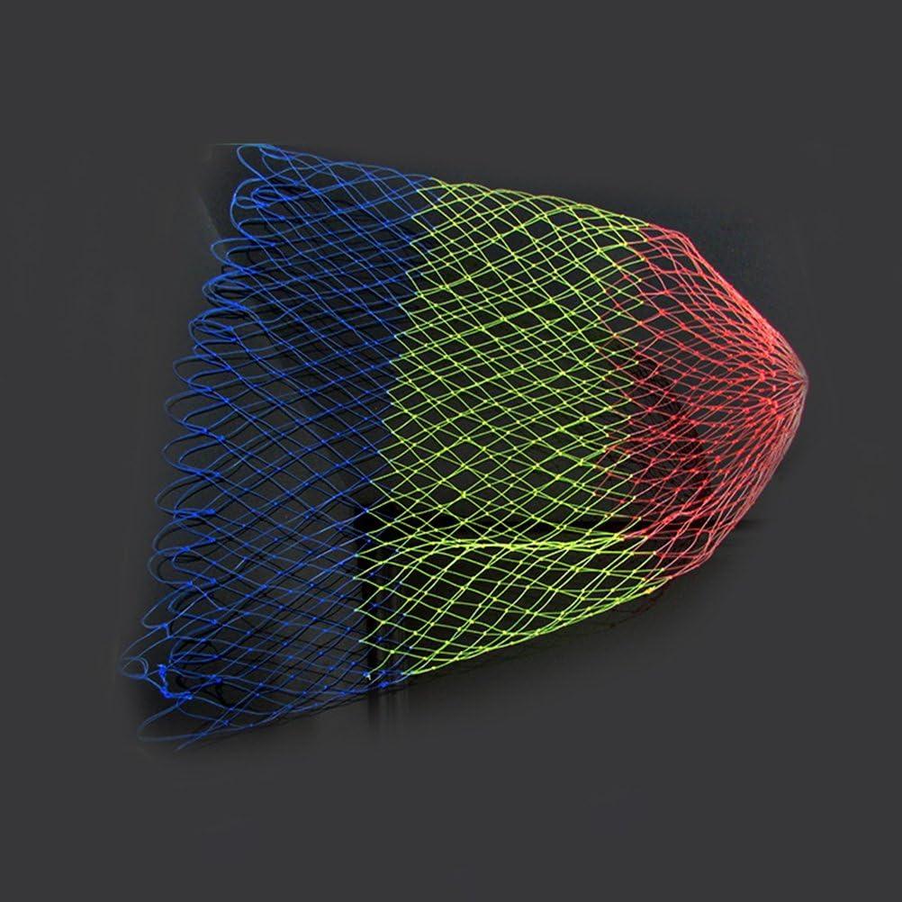 VORCOOL Landing Net Fly Fishing Landing Net Colorful Replacement Bag Landing Mesh Basket Net Circumference 20 Inch