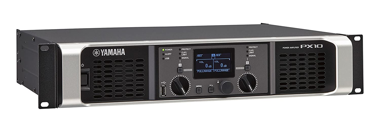 Amazon.com: Yamaha PX10 Dual Channel 2x1200W Lightweight Power Amplifier w/ DSP: Musical Instruments