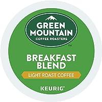 Green Mountain Coffee Roasters Breakfast Blend, Single Serve Coffee K-Cup Pod, Light Roast, 72