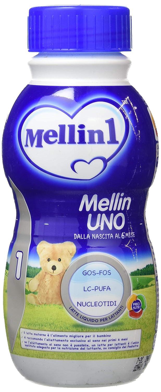 Amazon.com: Mellin 1 Leche de crecimiento líquido 500 ml ...