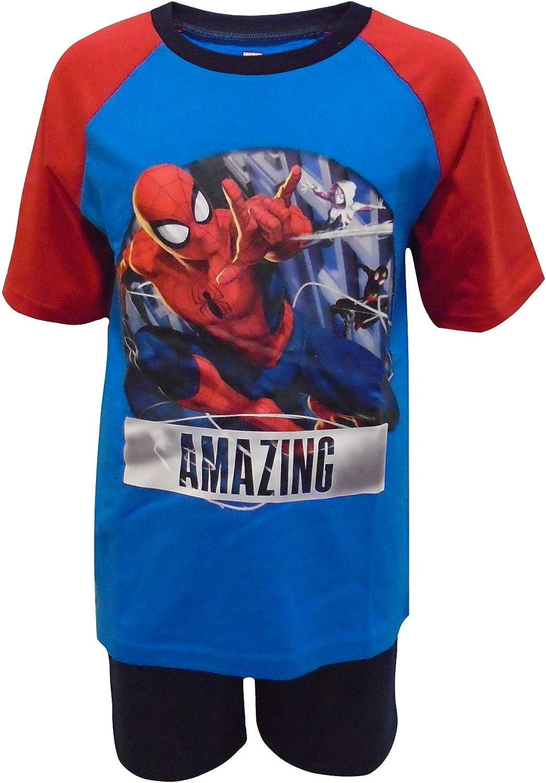 Spiderman Pigiama Shortie per Ragazzi Amazing