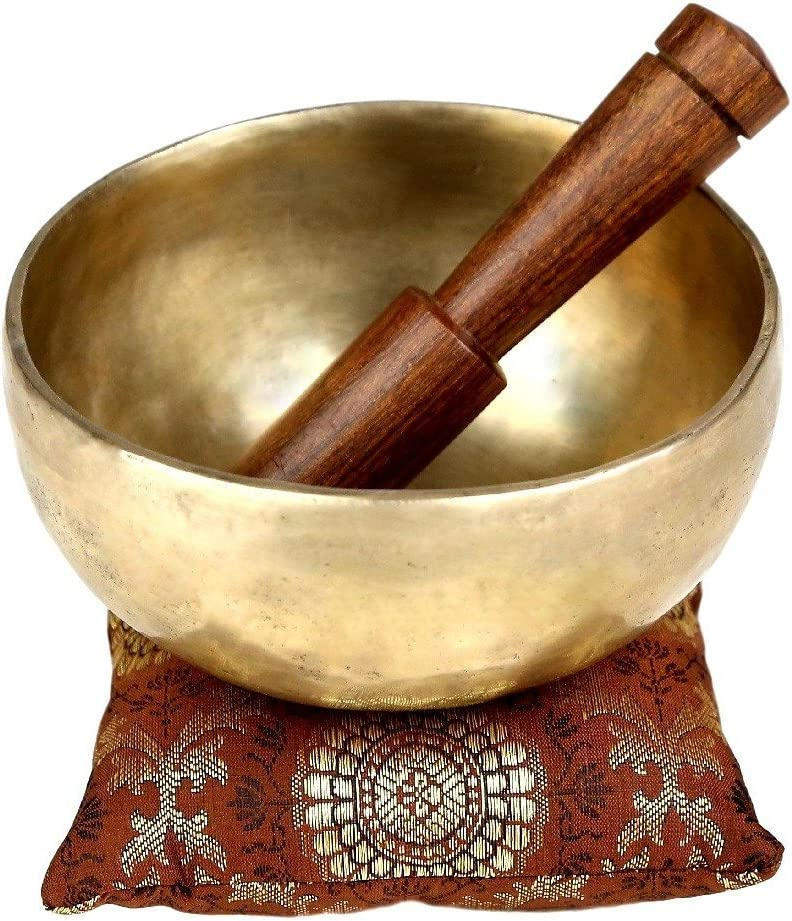 Shalinindia Bell Metal Tibetan Buddhist Singing Bowl