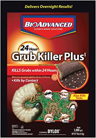 Amazon Com Bioadvanced 700750b 24 Hour Grub Killer Plus Dylox