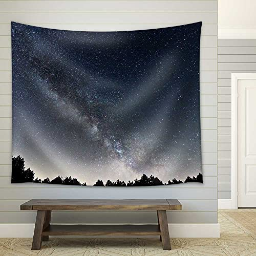 wall26 – Portland Headlight Light House at Dawn – Fabric Wall Tapestry Home Decor – 68×80 inches