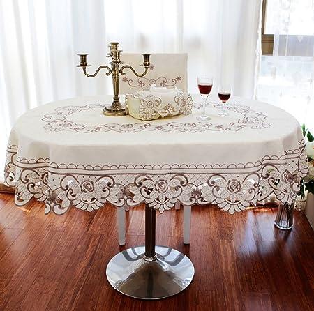 leevan diseño de flores color marfil bordado Cutwork con vainica ...