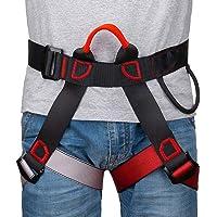 Linkax Arnés de Escalada,Cinturones de Seguridad Equipo Escalada,Ajustable