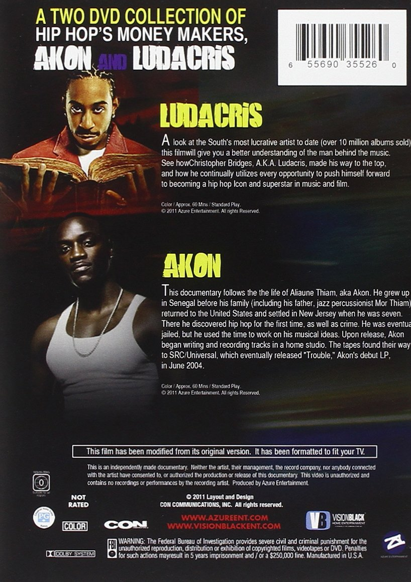 dvd do akon 2011