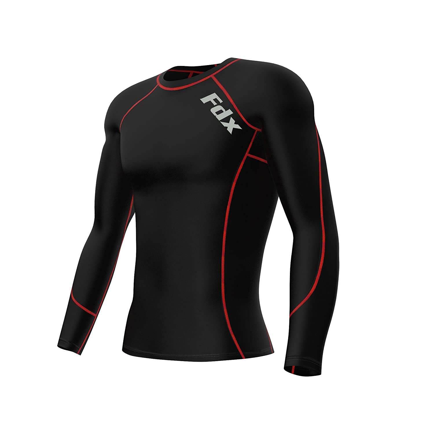 Activewear Tops Men Compression Armor Base Layer Top Long Sleeve Thermal Gym Sport Shirt Cycling