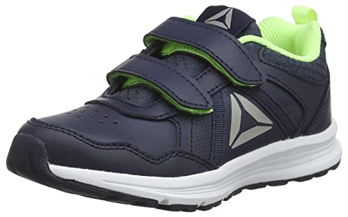 0291904affeca4 Reebok Jungen Almotio 4.0 2V Fitnessschuhe Blau (Collegiate Navy Electric  Flash Pewter 000