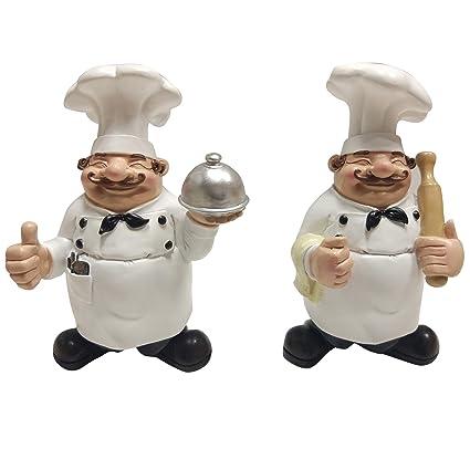 Amazon Home Decor And Beyond Happy Chefs Set Of 2 Bonus Shelf