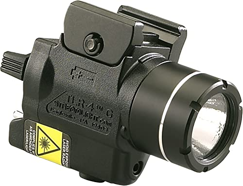 Streamlight 69247 TLR-4G H K USP Full Size Rail Mounted Tactical Light with Integrated Green Laser and CR2 Lithium Battery – 115 Lumens