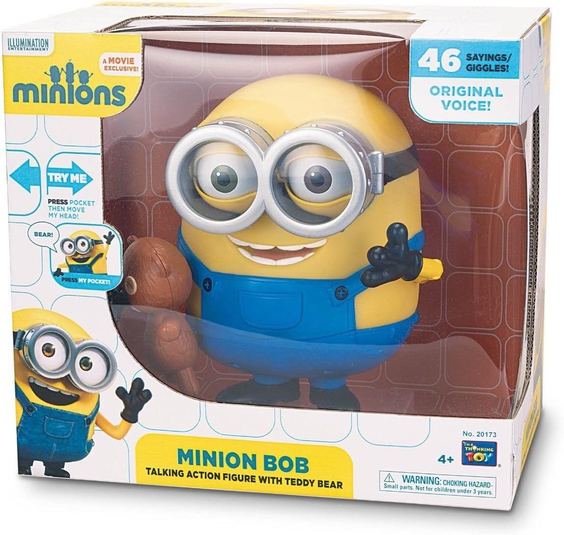 LES MINIONS Figurine Parlante Bob 20 cm: Amazon.es: Juguetes y juegos