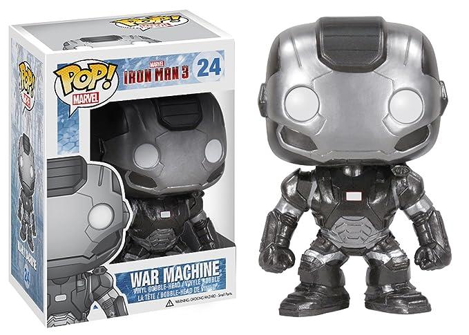 Amazon.com: Funko POP Marvel Iron Man Movie 3: máquina de ...