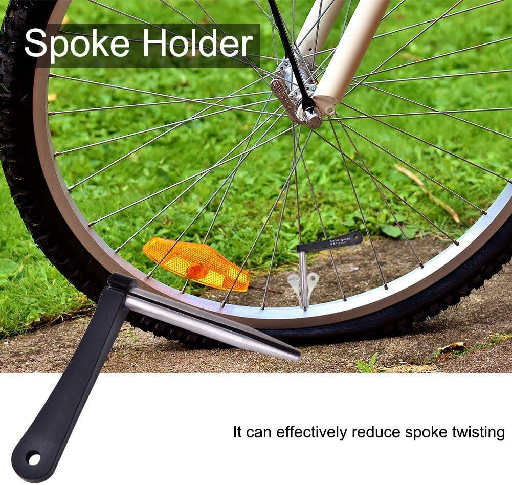 Durable Wheel Spoke Holder Tool for 0.8mm 1.0mm Spokes Repairing Accessory Spoke Holder