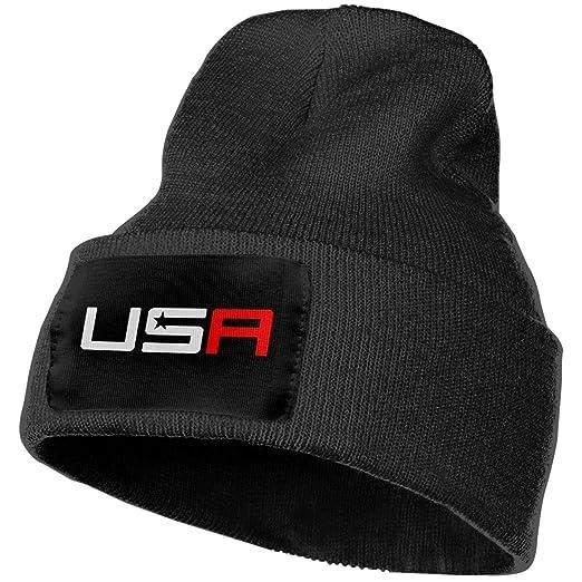 769b039f759acb Unisex Winter Hats USA Ryder Cup Golf Logo College Skull Caps Knit Hat Cap  Beanie Cap