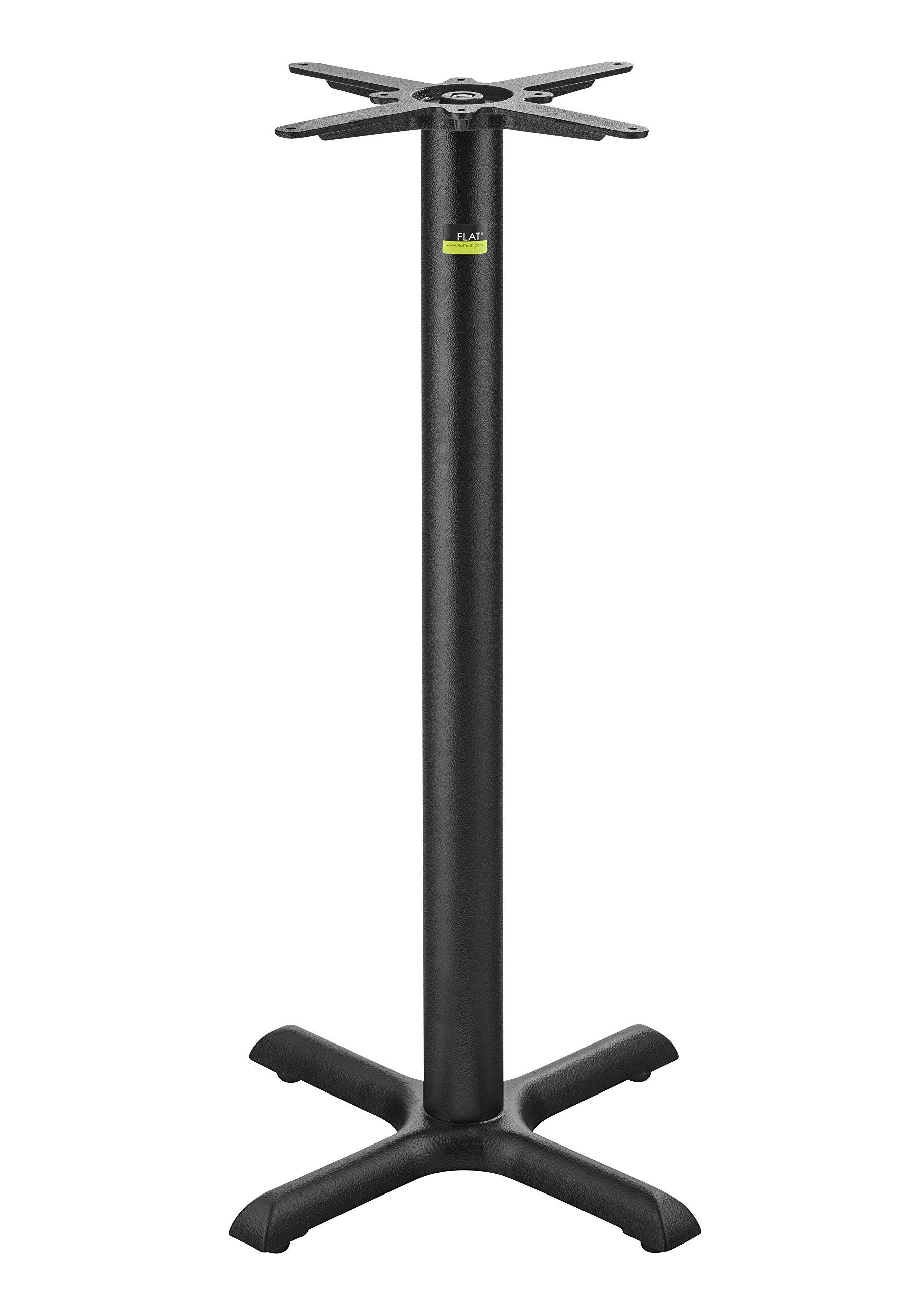 FLAT Self-Stabilizing KX22 (22'') Cast Iron, Bar Height Table Base