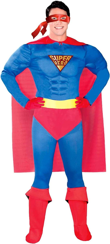 Guirca 84858 - Superheroe Adulto Talla M 48-50: Amazon.es ...