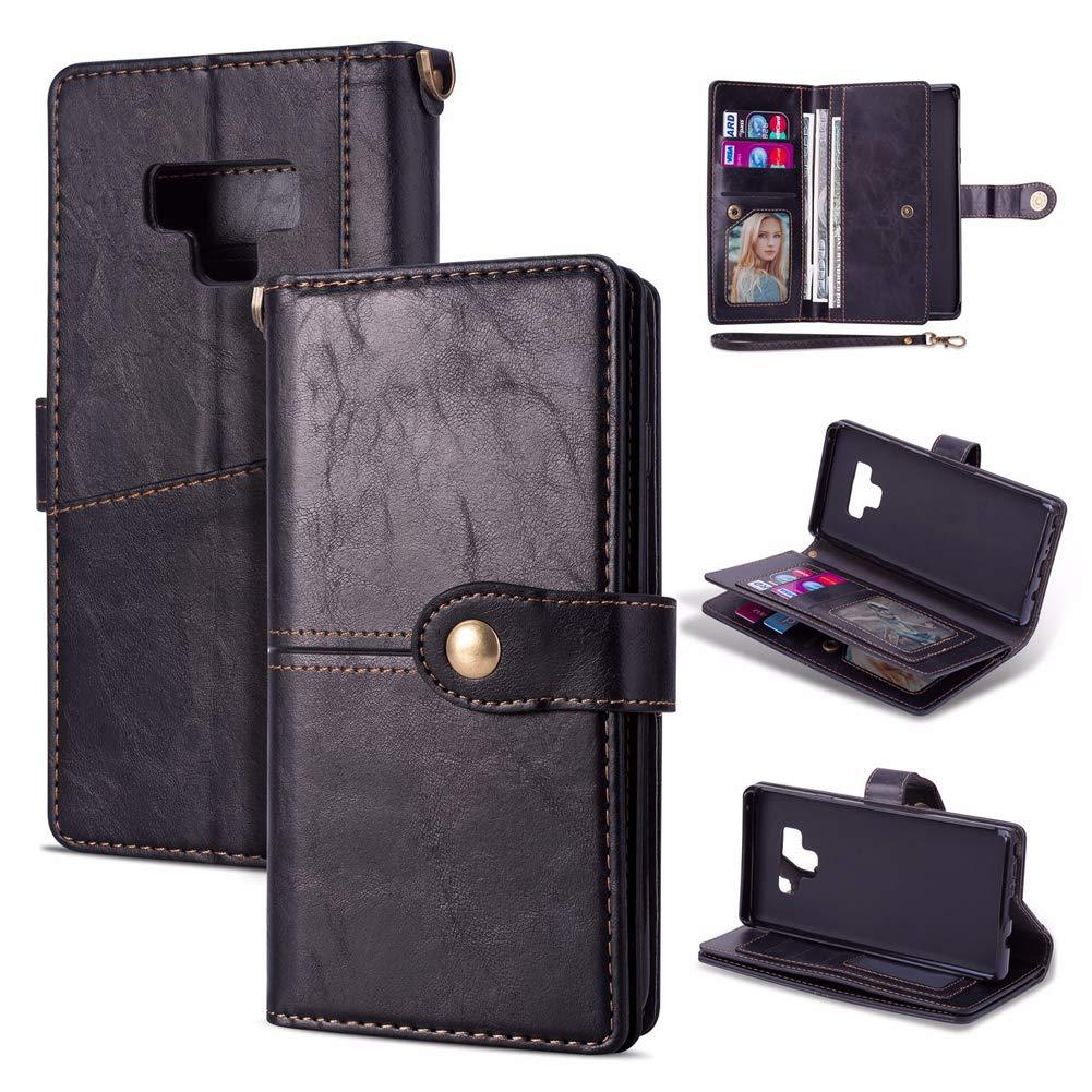 Amazon.com: Funda tipo cartera para Samsung Galaxy Note 9 de ...