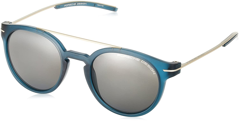 [ポルシェデザイン] PORSCHE DESIGN メガネ メンズ P8644 B0711T4J4Y 日本 50 (FREE サイズ)|ブルー ブルー 日本 50 (FREE サイズ)