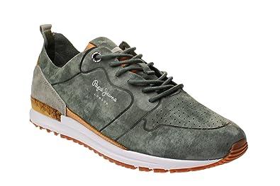 offiziell schön in der Farbe einzigartiger Stil Pepe Jeans PMS30411 Tinker - Herren Schuhe Sneaker - 765 khaky-g