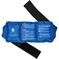 Transforming Life Reusable Hot & Cold Soft & Flexible Gel Ice Pack with strap for Pain Relief