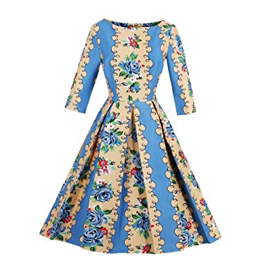 KeKeD23921 New Autumn Vintage Dress For Women Long Sleeve Fall Retro Dress Elegant Pattern Feminino Vestidos