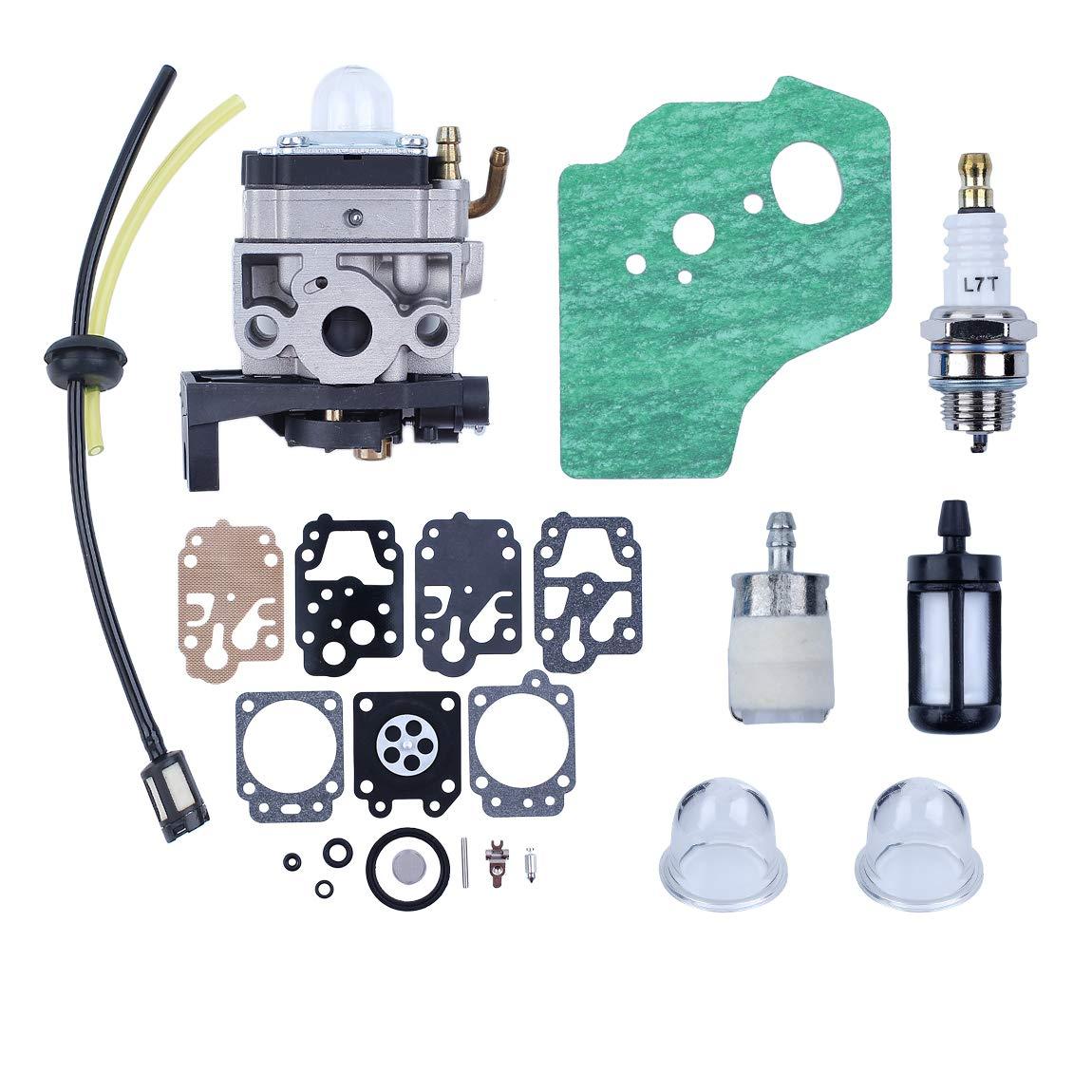 Haishine Carburador Carb Junta Diaphargm Kit para Honda GX35 HHT35 ...