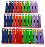 36 Rust Free Drying Clothes Clip/Cloth Peg/Drying Pins/Pegs for Hanger