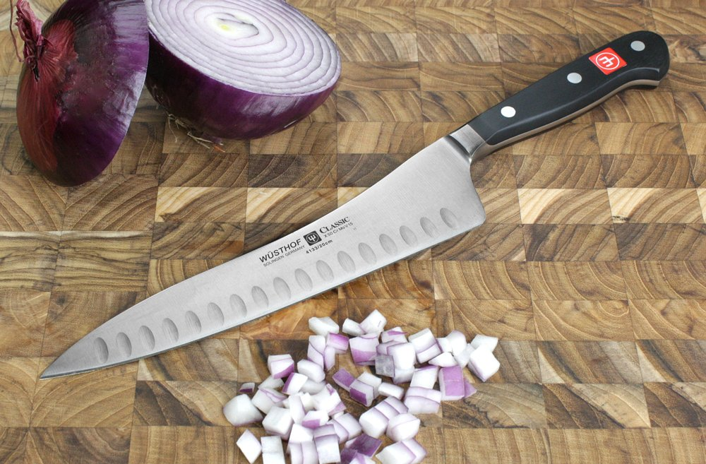 Wusthof Classic 8-Inch Hollow Edge Wunder Knife