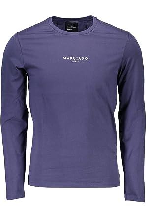 Marciano Double M Camisetas y Polo Camisas Hombre Negro Manga ...