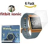 Protecteur d'écran ionique Fitbit, Yafine protecteur d'écran HD Ultra Clear Film pour Fitbit Ionic Fitness Tracker