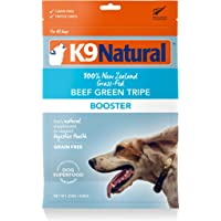 K9 Natural Grain-Free Freeze Dried Dog Food Supplement Booster (Beef Green Tripe, 250g)