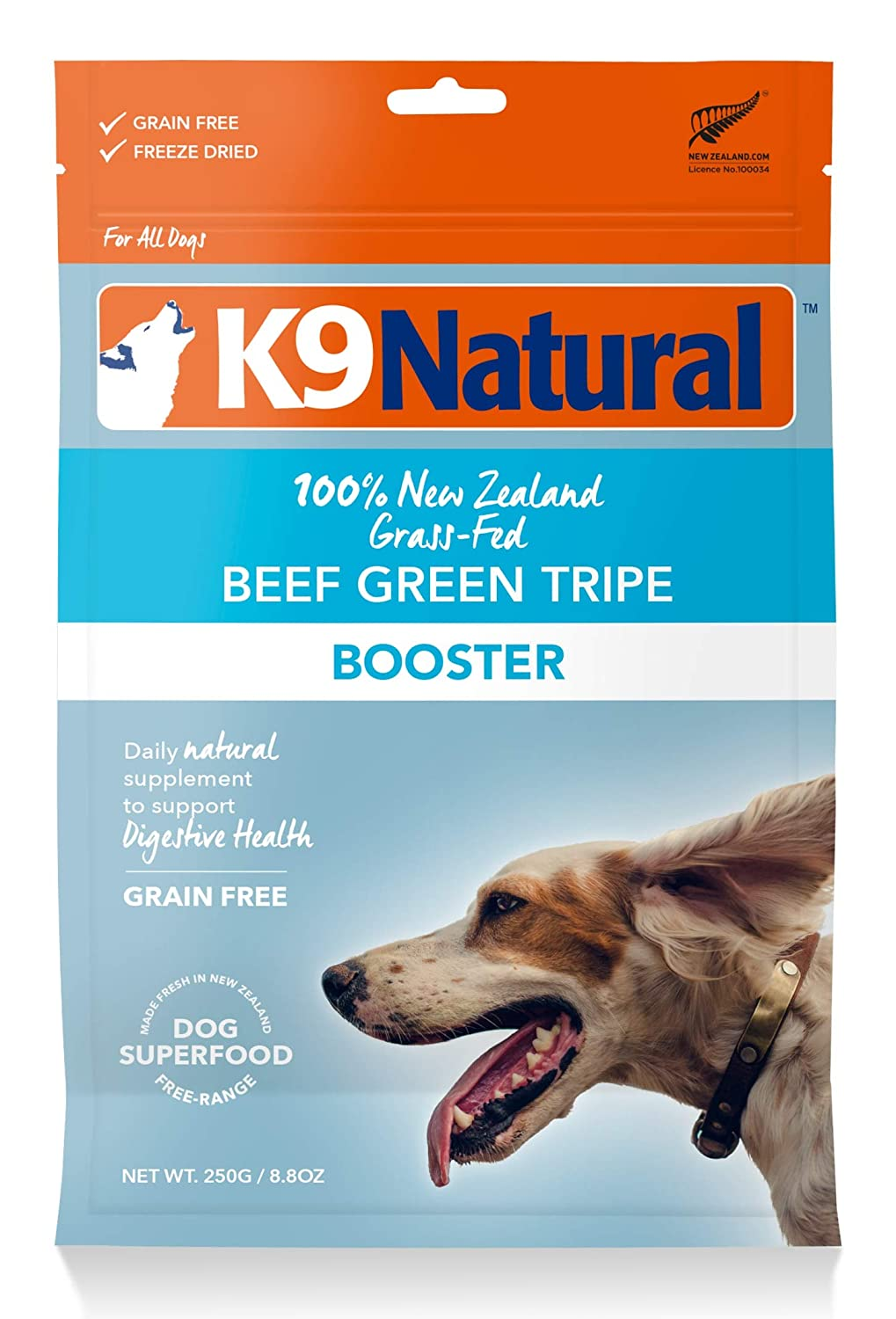 K9 Natural Freeze Dried Dog Food Topper by Perfect Grain Free, Healthy, Hypoallergenic Limited Ingredients for All Dog'S Raw, Freeze Dried Mixer (Beef, 8.8Oz)