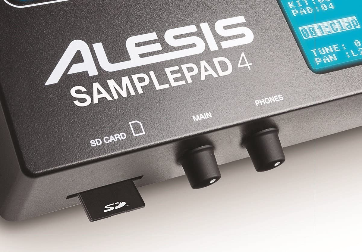 Alesis samplepad 4 sd card