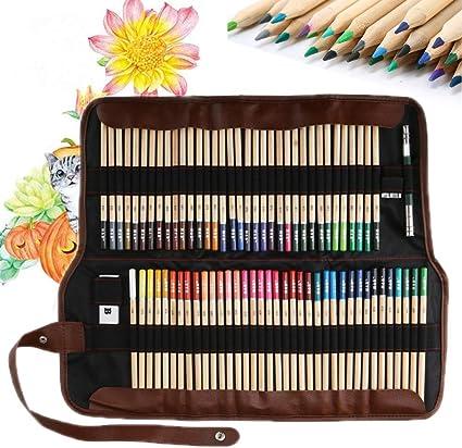 Lápices de Colores, Lypumso Lápices de Dibujo de Colores Vivos para Dibujar y Esbozar un Juego de Arte de Lápiz de Color Profesional, Adecuado para Principiantes y Artistas: Amazon.es: Oficina y papelería
