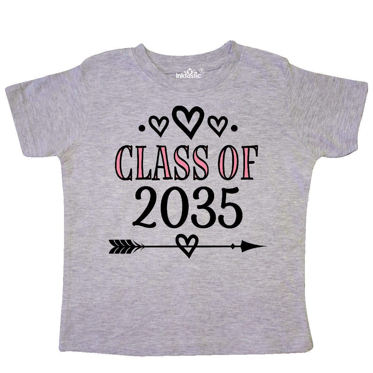 inktastic Class of 2035 School Year Graduation Toddler T-Shirt