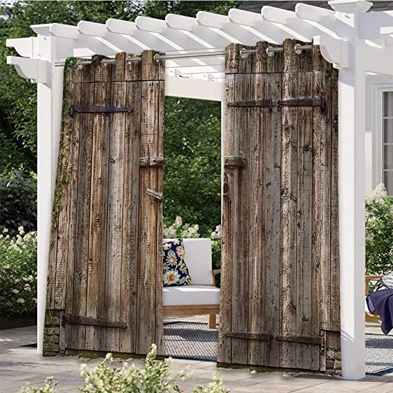 outdoor patio garage doors