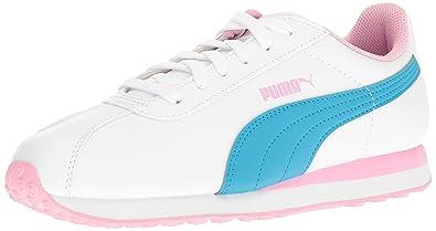504708bd01ad PUMA Turin JR Running Shoe White-Hawaiian