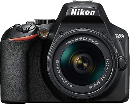 Nikon D3500 Kit Af P Dx 18 55 Mm Vr Black Camera Photo