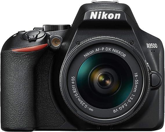 Nikon D3500 - Cámara digital 24,2 MP VR (24,2 MP, 6000 x 4000 ...