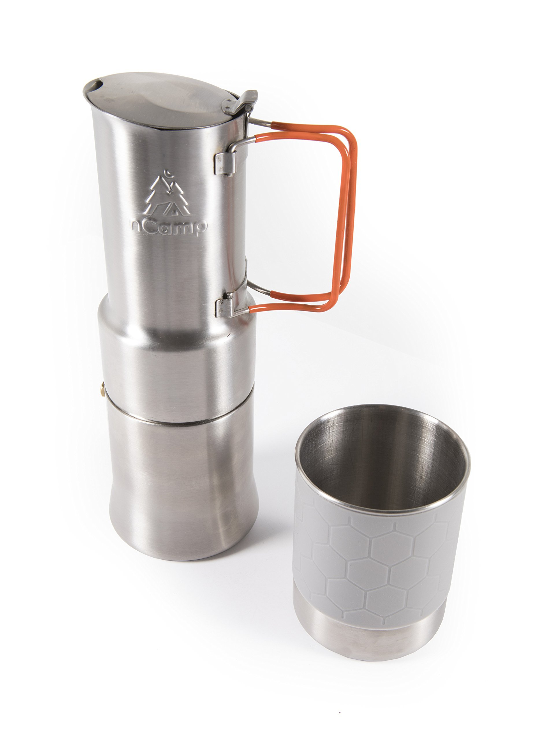 Compact Espresso-Style Café/Coffee Maker for Camping Hiking Backpacking/Compact and Lightweight