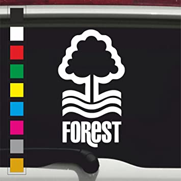 Nottingham forest nffc football badge vinyl decal sticker jdm euro vw dub car bike window