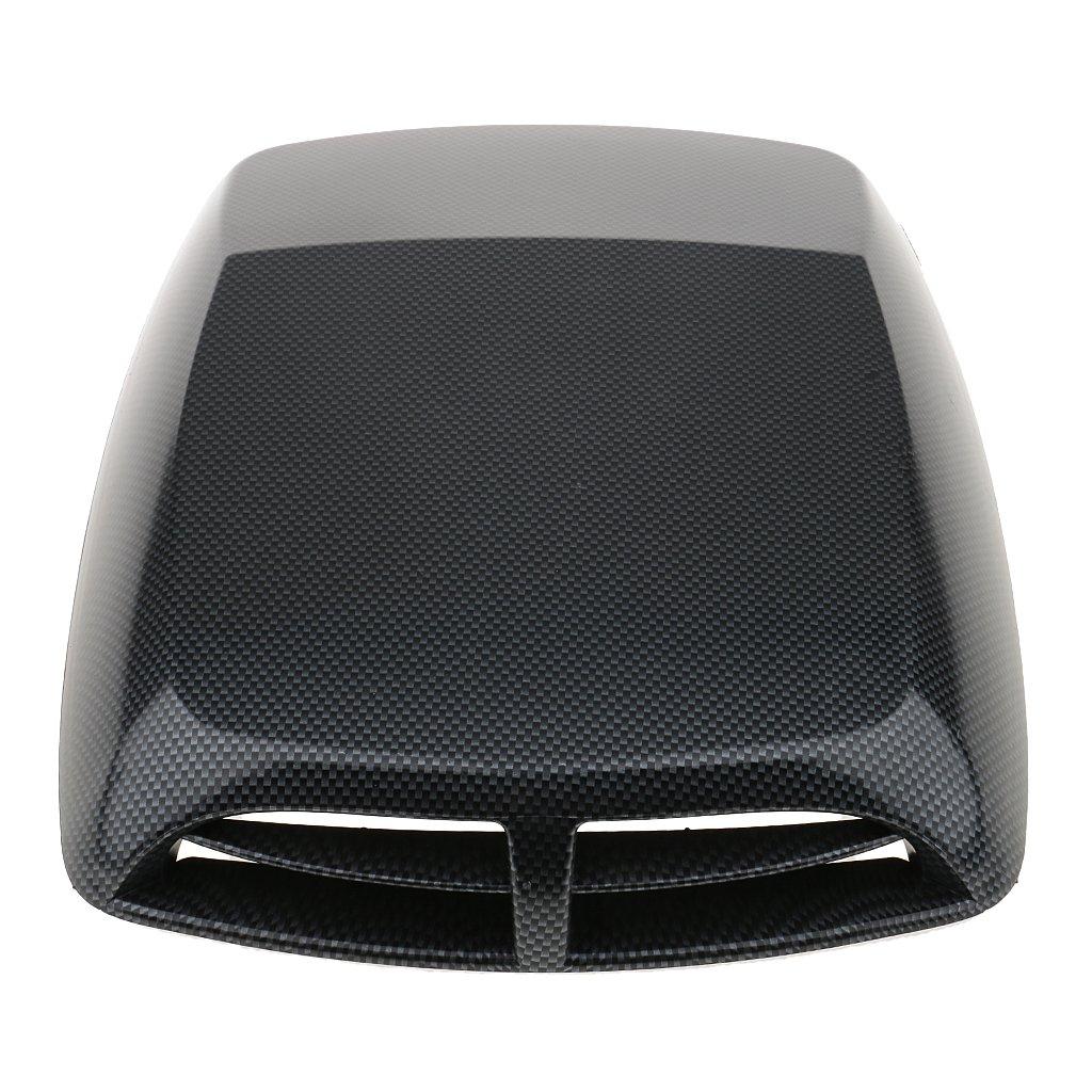 12.8x9.8x2 Inch Carbon Fiber D DOLITY Universal Car Vents Decorative Air Flow Intake Hood Scoops Ventilation Cover