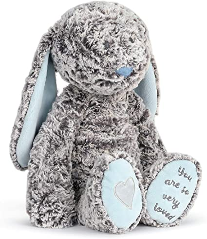 "Benjamin Bunny You are So Very Loved Soft Blue 12"" Plush Fabric Figure  Demdaco"
