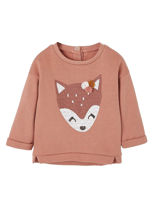 Fuchs Vertbaudet Baby M/ädchen Sweatshirt