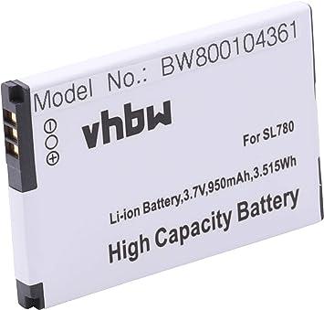 vhbw Batería Li-Ion 950mAh (3.7V) para teléfono Fijo inalámbrico Siemens Gigaset SL788, SL78, SL78H, X656, SL610 y 4250366817255.: Amazon.es: Electrónica