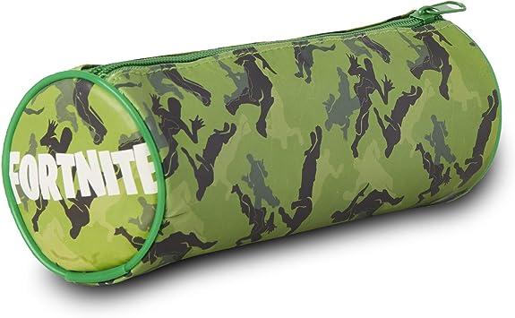 Sambro-Estuche Fortnite, aprox. 22 x 8,5 x 8,5 cm, colores surtidos carbón, Standard-Größe (DUR-6433): Amazon.es: Juguetes y juegos