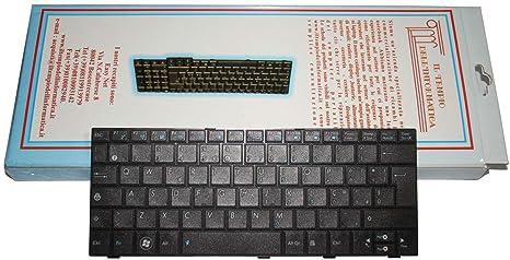 Teclado para ordenador portátil ASUS EeePC 1008px Layout italiano negro